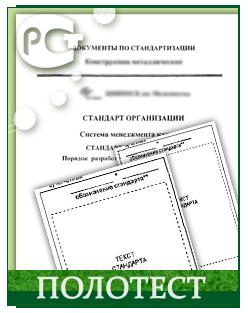 Разработка стандартов организации